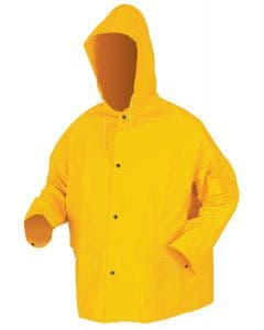 MCR Classic .35mm PVC/Polyester Jacket With Attached Hood