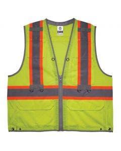 Ergodyne GloWear 8231TV Hi-Vis Type R Class 2 Tool Tethering Safety Vest
