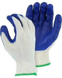 Majestic 3379 Latex String Knit Lined Palm Coated Glove