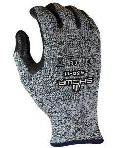 SHOWA 430 HPPE Knit Glove with Bi-Polymer Palm Coating - Cut Level 4