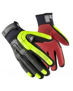Honeywell RigDog Cold Protect 43-622BY Thermal Lined Hook & Loop Impact Gloves - Cut Level A6