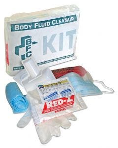 BODY FLUID CLEANUP KIT, BAGGED