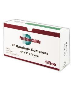 """Magid® Precision Safety® 4"""" Sterile Absorbent Gauze Compress"""