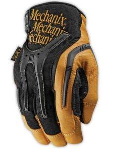 Mechanix Wear CG40-75 Heavy Duty Brown/Black Leather Mechanics Gloves