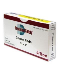 "Magid® Precision Safety® 3"" x 3"" Sterile Cotton Gauze Pads"