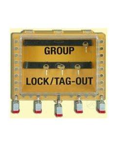 Saalman Safety B21184Y Lockout View Box