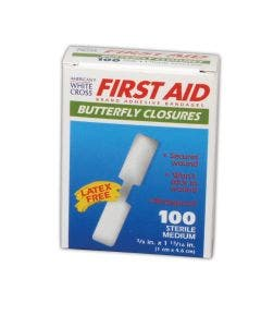 American White Cross® Medium and Large Butterfly Wound Closures