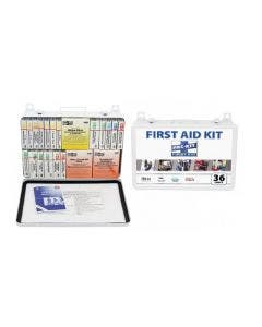 Pac-Kit 5499 36 Unit First Aid Kit with Weatherproof Steel Case