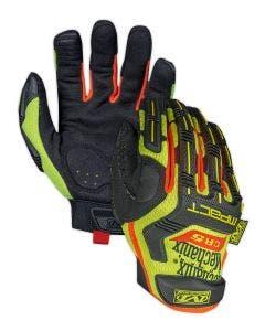 Mechanix Wear SMP-C91 Hi-Viz M-Pact E5 Cut Resistant Work Gloves