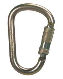 "MSA SRCC740 2"" Steel Auto-Locking Carabiner with Captive Pin"