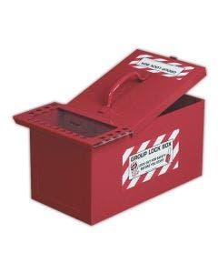 Emedco® Portable Steel Storage/Group Lock Box