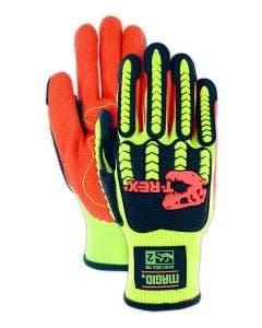 Magid T-REX Flex Series TRX500 Hi-Viz Impact Gloves