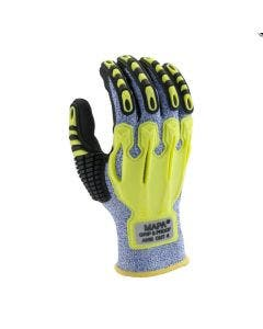 MAPA Exonit 547 Knit Impact Glove with Nitrile Grip & Proof Palm Coating