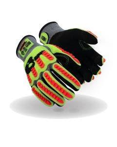 Magid T-REX Flex Series TRX775 NitriX Grip Technology Palm Impact Glove – Cut Level A7
