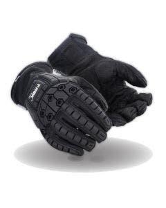 Magid T-REX Inferno Series TRX824 Black Flame Resistant Impact Glove - Cut Level 2