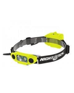 Nightstick XPP5462GX DICATA Intrinsically Safe Low-Profile Dual-Light Headlamp