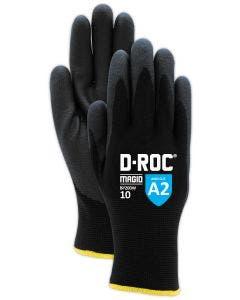Magid D-ROC Water Repellent Thermal Foam Nitrile Coated Work Glove–Cut Level A2