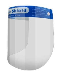 Magid Anti-Fog Full Face Shield with Soft Padding - 10 Pack