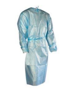 Magid Disposable Isolation Gown with Elastic Cuffs, 10/Pack