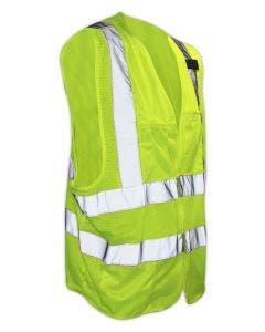 Magid Self-Extinguishing Class 2 High-Visibility Reflective Vest