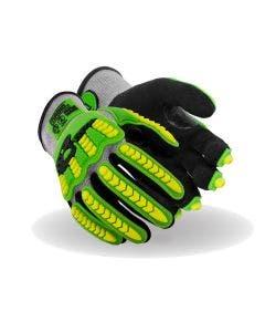 Magid T-REX Flex Series Lightweight NitriX Grip Technology Palm Coated Impact Glove – ANSI Cut A4