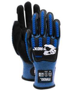 Magid T-REX Flex Series TRX685 Extremely Lightweight Aerodex Shell Impact Glove –Cut Level A6