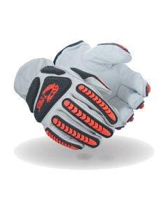 Magid T-REX Rebel Series TRX818 Goatskin Premium Hyperon-Lined Driver Impact Glove – Cut Level A4