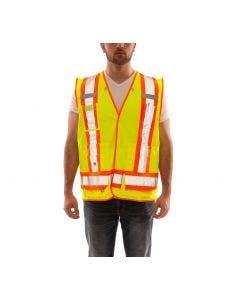 Tingley V71852C Job Sight Class 2 X-Back Surveyor Vest