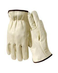 Wells Lamont Y0032 XXL Grain Cowhide Lined Driver Glove