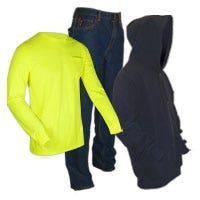 Photo of FR clothing